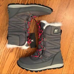 Sorel Shoes - NWT Sorel Waterproof Boots, Gray